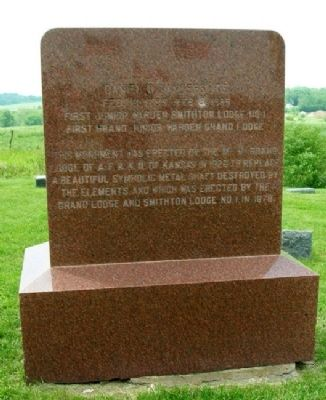 Smith / Vanderslice Monument (back) image. Click for full size.