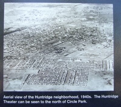 Photo on The Huntridge Neighborhood Marker image. Click for full size.