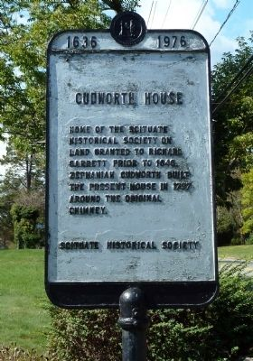 Cudworth House Marker image. Click for full size.