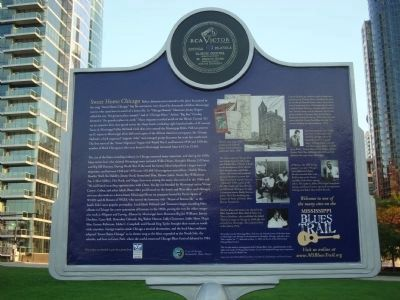 The Blues Trail Marker - Side B image. Click for full size.