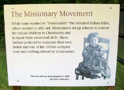 The Missionary Movement Marker image. Click for full size.