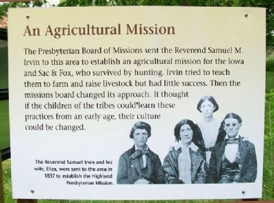 An Agricultural Mission Marker image. Click for full size.