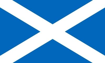 Flag of Scotland<br>St. Andrew&#39;s Cross image. Click for full size.