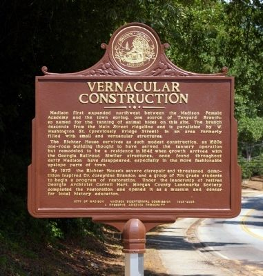 Vernacular Construction Marker image. Click for full size.