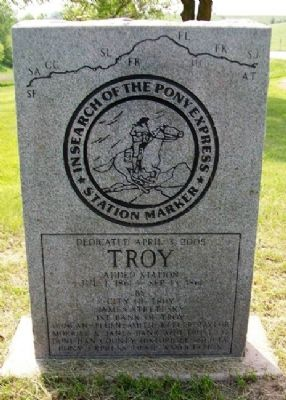 Troy Marker (front) image. Click for full size.
