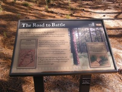 The Road to Battle Marker image. Click for full size.