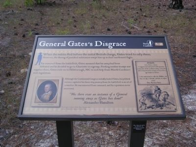 General Gate's Disgrace Marker image. Click for full size.