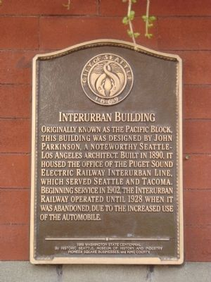 Interurban Building Marker image. Click for full size.