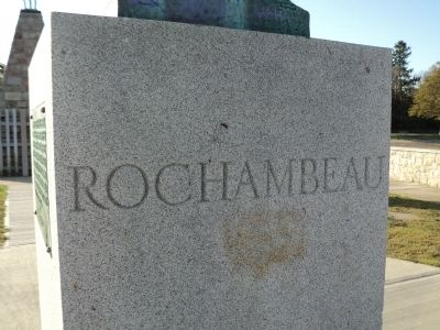 Rochambeau Marker image. Click for full size.