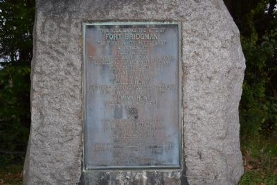 Fort Bridgman Marker image. Click for full size.