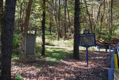 St. Clair Hollow Marker image. Click for full size.
