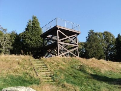 Observation Tower at Fort Barton image. Click for full size.