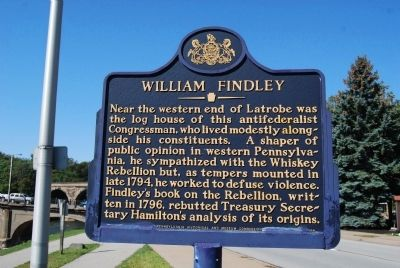 William Findley Marker image. Click for full size.