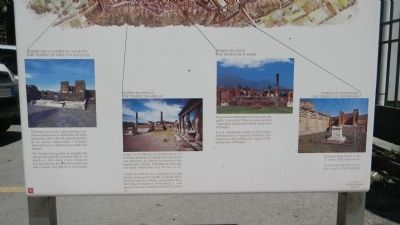<i>Pompei Giubileo</i> [Pompeii Jubilee] 2000 Marker, lower section image. Click for full size.