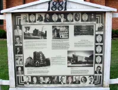 Patee Park Baptist Church Marker image. Click for full size.