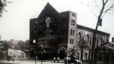 Photo of Patee Park Baptist Church on Marker image. Click for full size.
