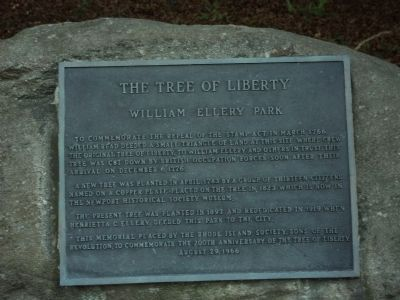 The Tree of Liberty Marker image. Click for full size.