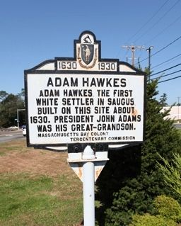 Adam Hawkes Marker image. Click for full size.