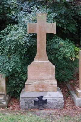 Rev. John Johnson Tombstone image. Click for full size.