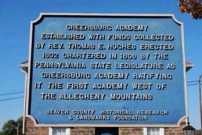 Greersburg Academy Marker image. Click for full size.