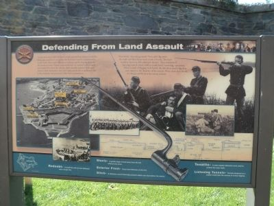 Defending From Land Assault Marker image. Click for full size.