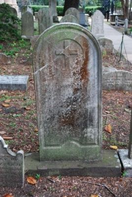 Rev. Cranmore Wallace Tombstone image. Click for full size.