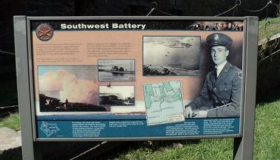 Southwest Battery Marker image. Click for full size.
