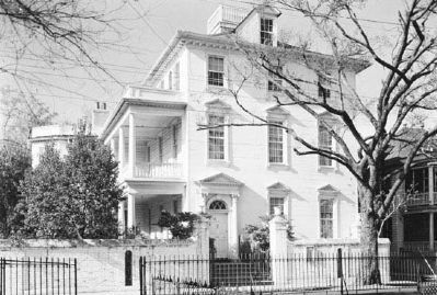 Colonel John Stuart House, Historic American Engineering Record image. Click for full size.