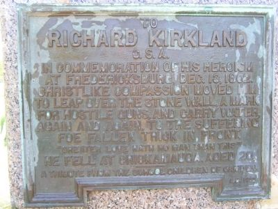 Richard Kirkland Marker image. Click for full size.