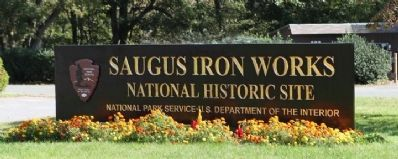 Saugus Iron Works-National Park Service-National Historic Site image. Click for full size.