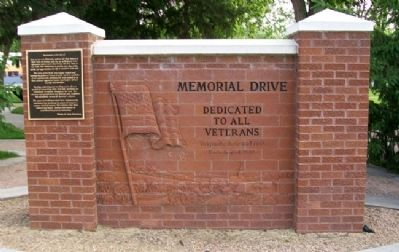 Memorial Drive Marker image. Click for full size.