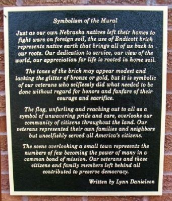 Symbolism on the Memorial Drive Marker image. Click for full size.
