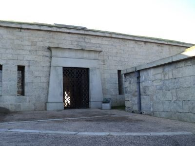 Entrance to Fort Trumbull image. Click for full size.