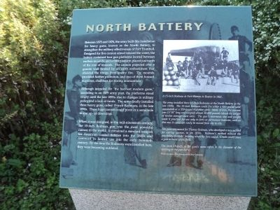 North Battery Marker image. Click for full size.