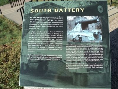 South Battery Marker image. Click for full size.