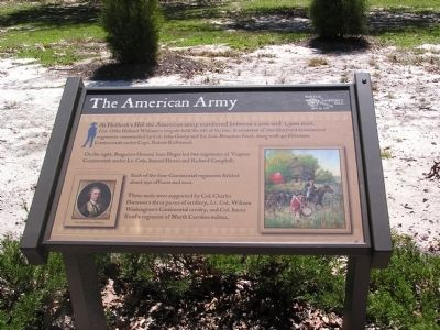 The American Army Marker image. Click for full size.