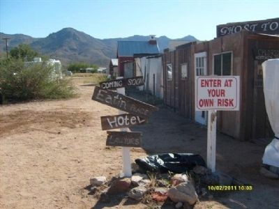 Chloride Ghost Town image. Click for full size.