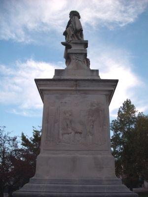 Right Side - - Lawrence County Soldiers Sailors and Pioneers Memorial Marker image. Click for full size.
