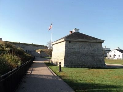 Blockhouse at Fort Trumbull image. Click for full size.