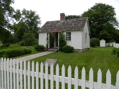 Herbert Hoover's Birthplace image. Click for full size.