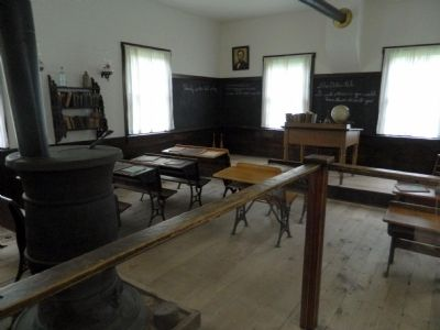 Schoolhouse Interior image. Click for full size.