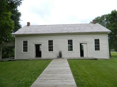 Friends Meetinghouse image. Click for full size.