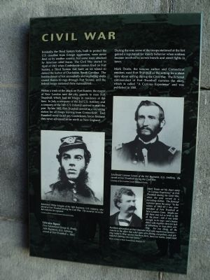 Civil War Marker image. Click for full size.