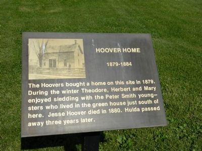Hoover Home Marker image. Click for full size.