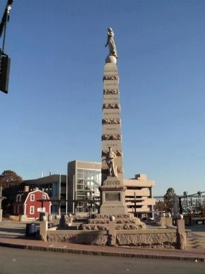 New London Soldiers & Sailors Monument (South/Sailor Side) image. Click for full size.