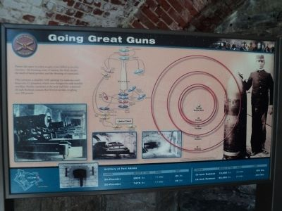 Going Great Guns Marker image. Click for full size.