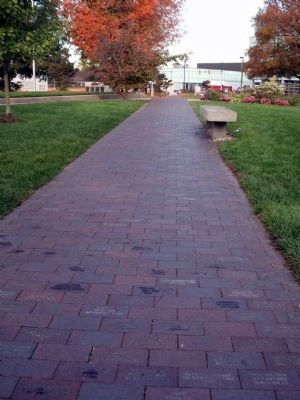 Side-walk of Memorial Bricks image. Click for full size.