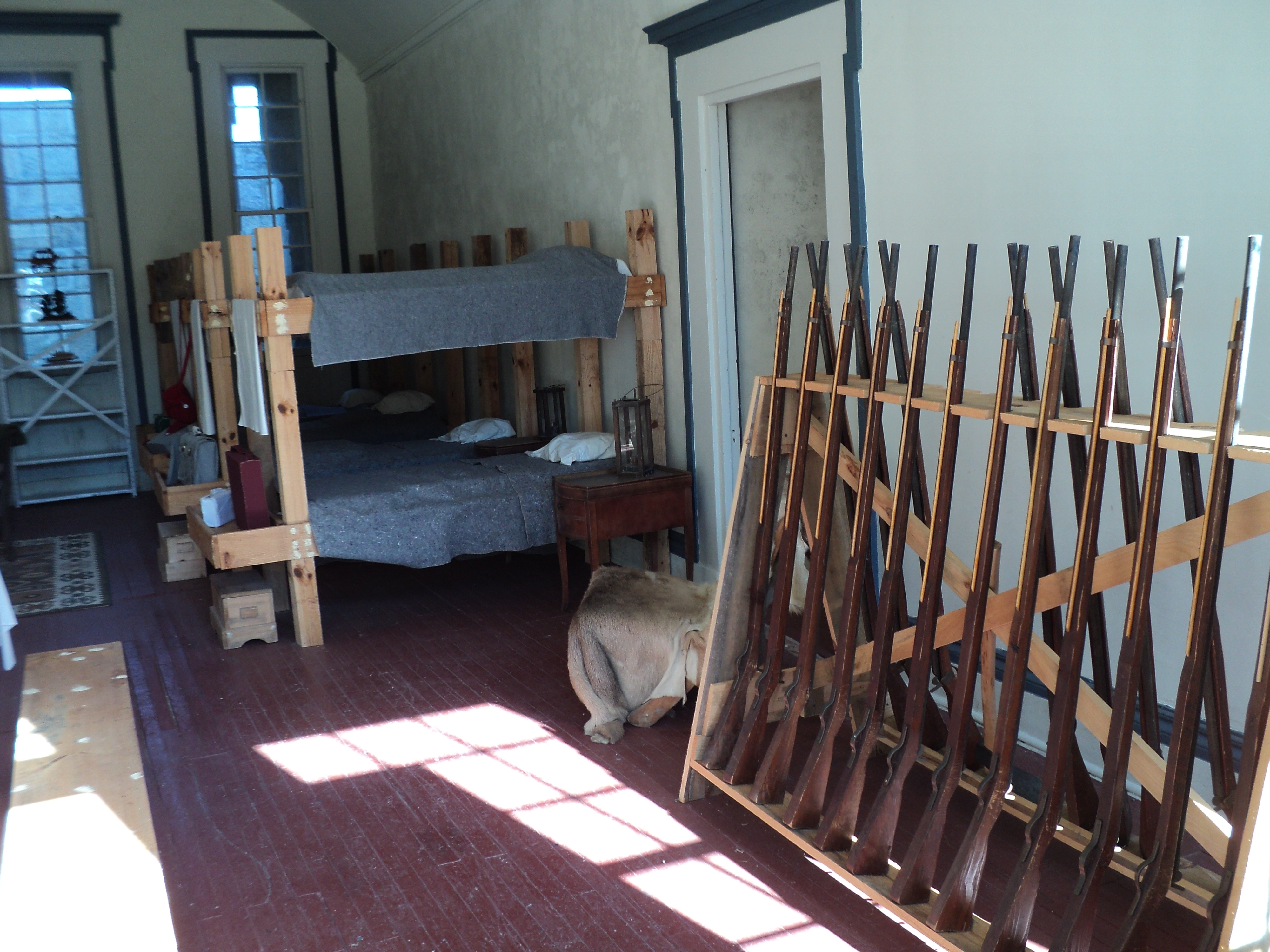 Room at Fort Trumbull