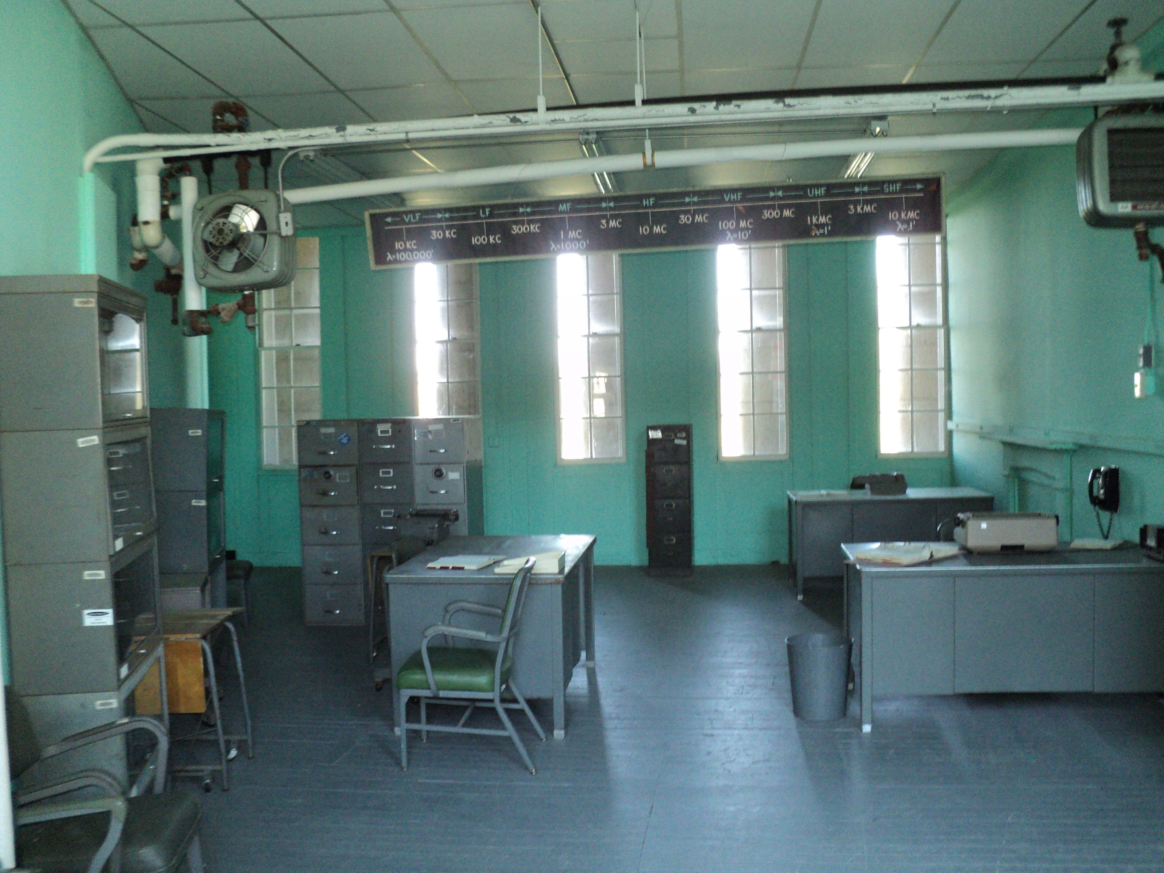 1950s Office Laboratory