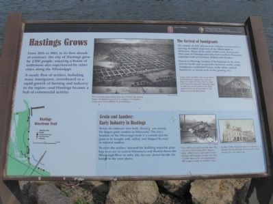 Hastings Grows Marker image. Click for full size.